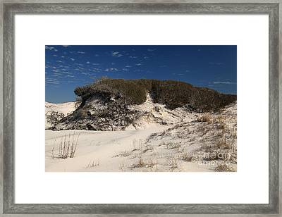 Lively Dunes Framed Print by Adam Jewell