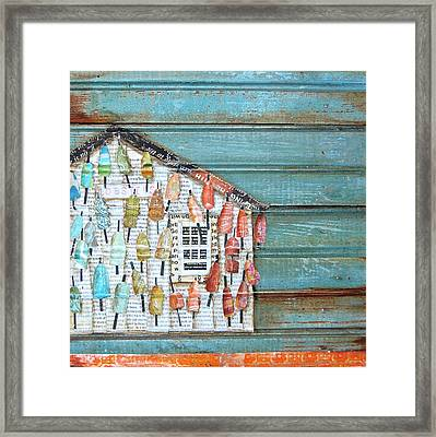 Lively Lives Framed Print by Danny Phillips