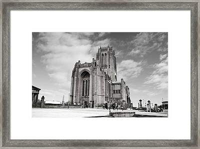Liverpool Anglican Cathedral Framed Print by David French