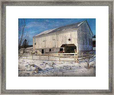 Liverpool Horse Barn Framed Print