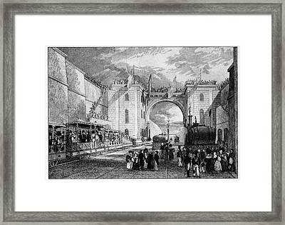 Liverpool Manchester Railway Framed Print by Cci Archives