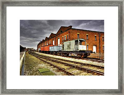 Liverpool Road Station Manchester Framed Print by Sandra Pledger