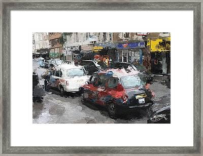 Liverpool Station London Framed Print by Steve K