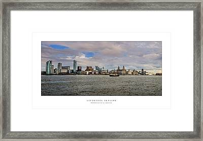 Liverpool Skyline Framed Print