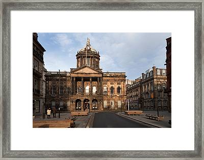 Liverpool Town Hall , Liverpool Framed Print by Panoramic Images