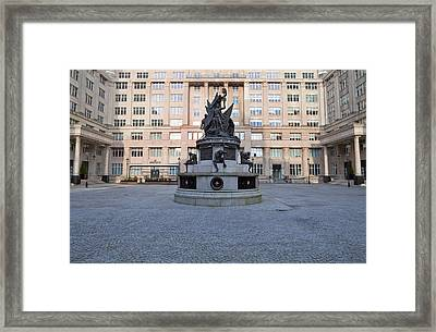 Liverpools Nelson Monument, Liverpool Framed Print by Panoramic Images