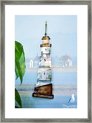 Living By The Sea - Pacific Ocean Framed Print