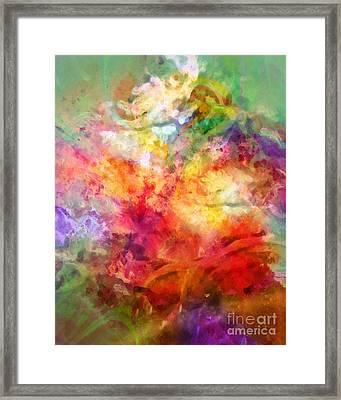 Living Color Framed Print by Lutz Baar