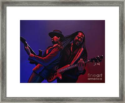 Living Colour Painting Framed Print by Paul Meijering