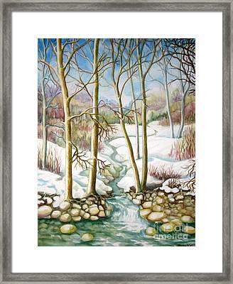 Living Creek Framed Print