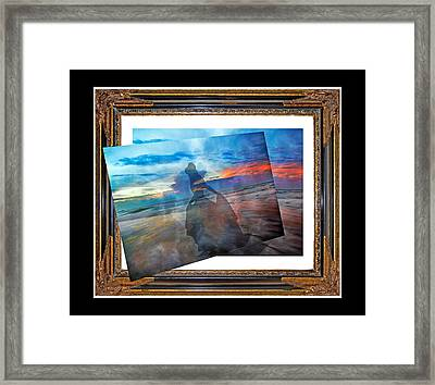 Living Frame Framed Print