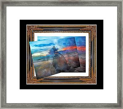 Living Frame Framed Print by Betsy Knapp