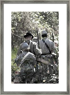 Living History Framed Print