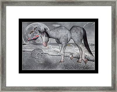 Living In A Pinched World Framed Print by Betsy Knapp