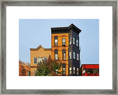 Living In Chicago Lincoln Park Framed Print by Christine Till