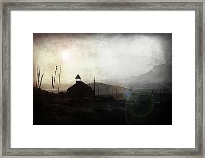 Living In Ghost Town Framed Print by Trish Mistric