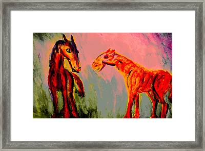 You Will Be Living In My Dreams  Framed Print by Hilde Widerberg