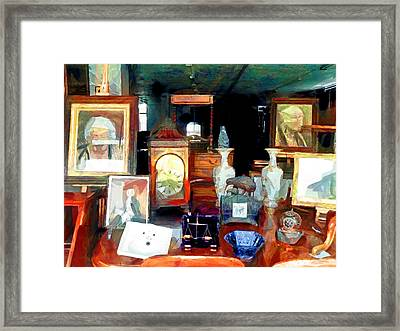 Living In Past Glory  Framed Print
