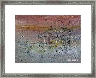Living In The Clouds Framed Print