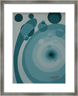 The Source Framed Print by Sony Ejiro Akpotor