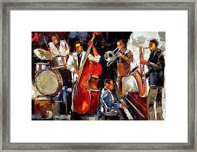 Living Jazz Framed Print