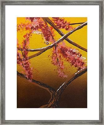 Living Loving Tree Bottom Center Framed Print