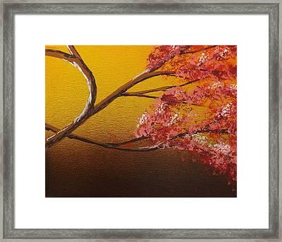 Living Loving Tree Bottom Right Framed Print