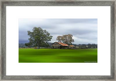 Living On The Land 0002 Framed Print