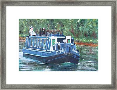 Living On The River Framed Print