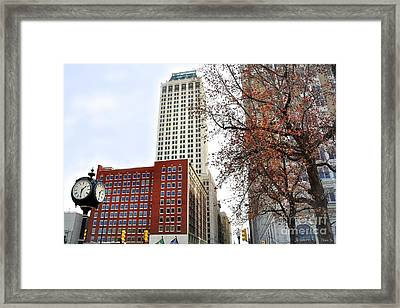 Living On Tulsa Time Framed Print