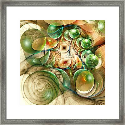 Living Organisms Framed Print by Anastasiya Malakhova