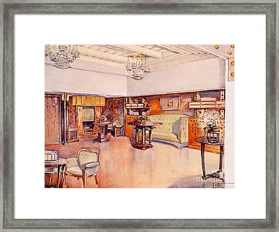 Living Room, 1905 Framed Print