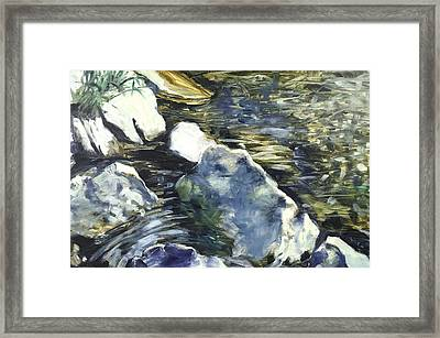 Living Water 3 Framed Print by Paul Myhre