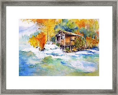 Living Water Framed Print by Betty M M   Wong