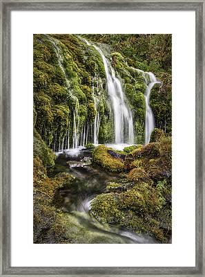 Living Water Framed Print by Jon Glaser