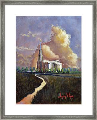 Living Waters Framed Print by Jeff Brimley