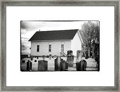 Living With The Dead Framed Print by John Rizzuto