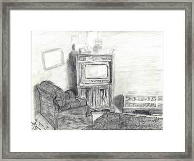 Livingroom Framed Print by Angela Pelfrey