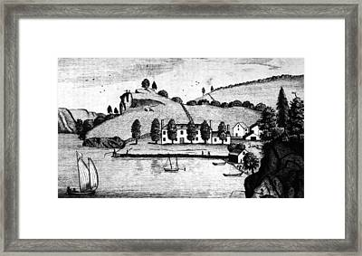Livingston Estate, 1796 Framed Print
