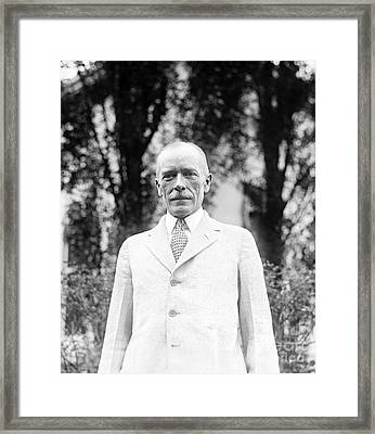 Livingston Farrand, Us Anthropologist Framed Print by Library Of Congress