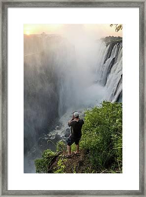 Livingstone, Zambia - Tourist Framed Print by Edwin Remsberg