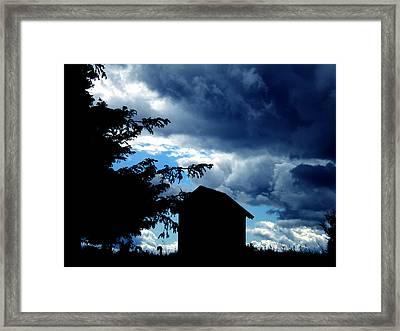 Livoe Island Late Day Denmark Framed Print