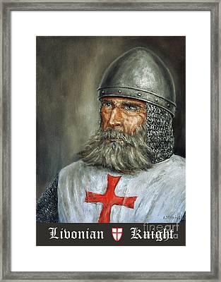 Knight Templar Framed Print