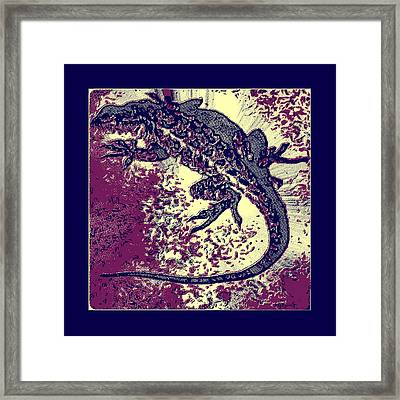 Liz 2 Framed Print by Brian D Meredith