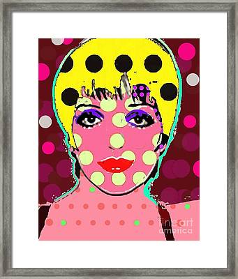 Liza Framed Print by Ricky Sencion
