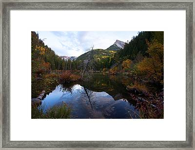 Framed Print featuring the photograph Lizard Lake by Jim Garrison