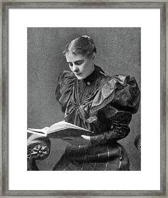 Lizette Reese (1856-1935) Framed Print by Granger