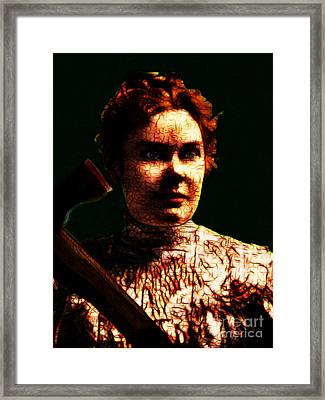 Lizzie Framed Print by Wingsdomain Art and Photography