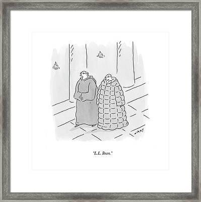 L.l. Bean Framed Print by Kim Warp
