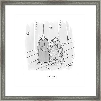 L.l. Bean Framed Print